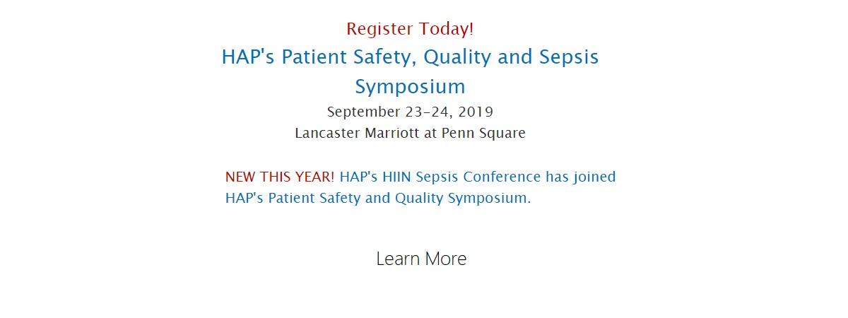 Sepsis Conference 2019