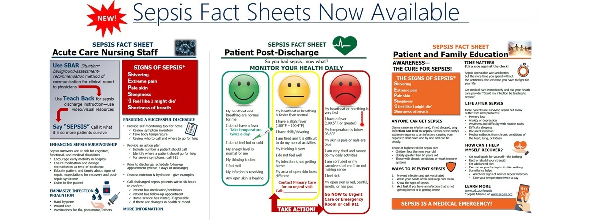 Sepsis Fact Sheets